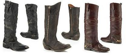 Las propuestas de calzado invierno 2009: botas