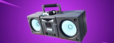 Fortnite la lía con la Boom Box y se usará en un torneo de 100.000 dólares sin tiempo para ser probado