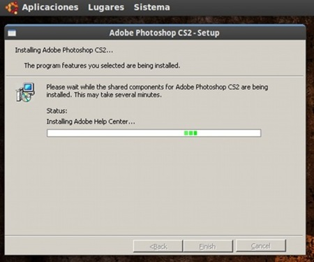 Adobe Photoshop con Wine 3