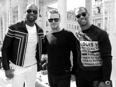 El poder de convocatoria de Kim Jones y Louis Vuitton sentó en el front-row a celebrities de la talla de David Beckham