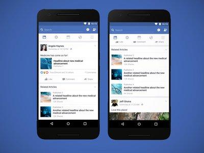 Facebook te mostrará artículos relacionados y pruebas de verificación antes de que abras un enlace