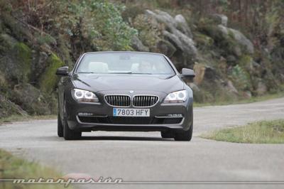 BMW 650i Coupé y Cabrio, prueba (equipamiento y seguridad)
