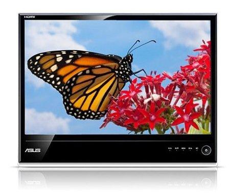 Cinco monitores de ordenador de diseño