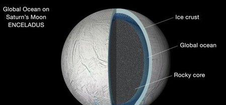¿Hay vida en Encélado, la luna de Saturno?