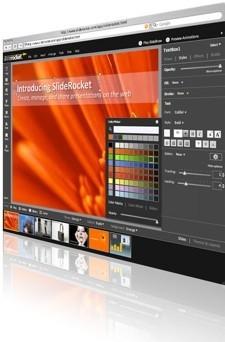 SlideRocket, nueva aplicación web para la creación de presentaciones de diapositivas