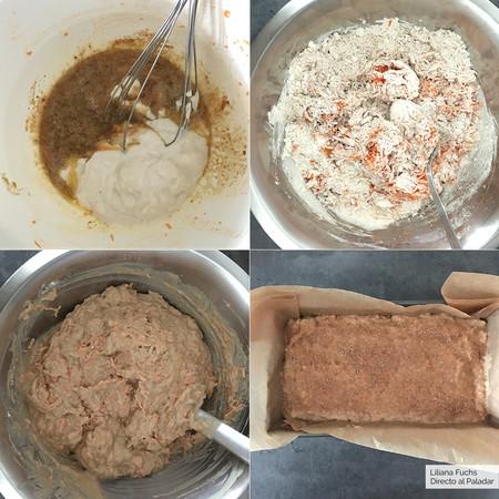 Bizcocho de Zanahoria y Yogur. Pasos