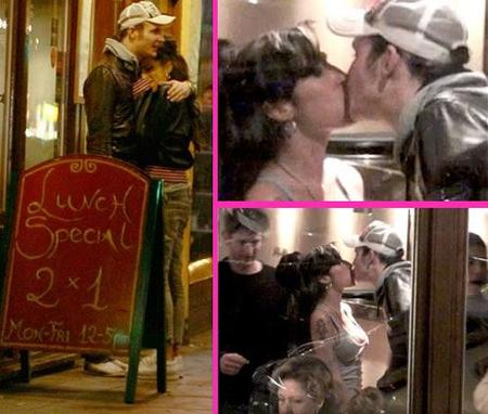Amy Winehouse pillada besando a su ex... ¡horror!