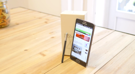 Samsung Galaxy Note 4 análisis tamaño