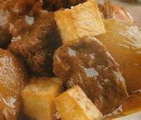 Estofado de buey con patatas
