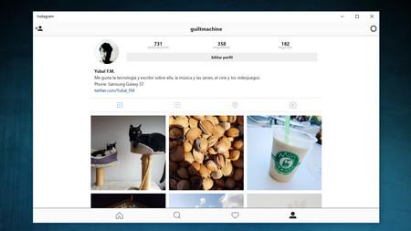 Instagram Win10