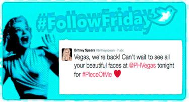 #FollowFriday de Poprosa: Britney se nos ha vuelto a desatar