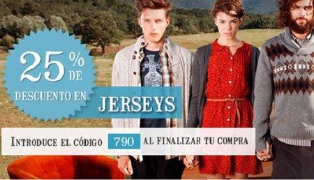 25% de descuento en jerseys en la tienda online de Sprinfield