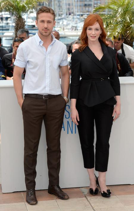 Ryan Gosling camisa Christina Hendricks