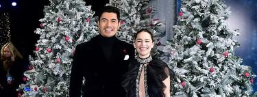 Emilia Clarke estrena Last Christmas en Londres entre copos de nieve