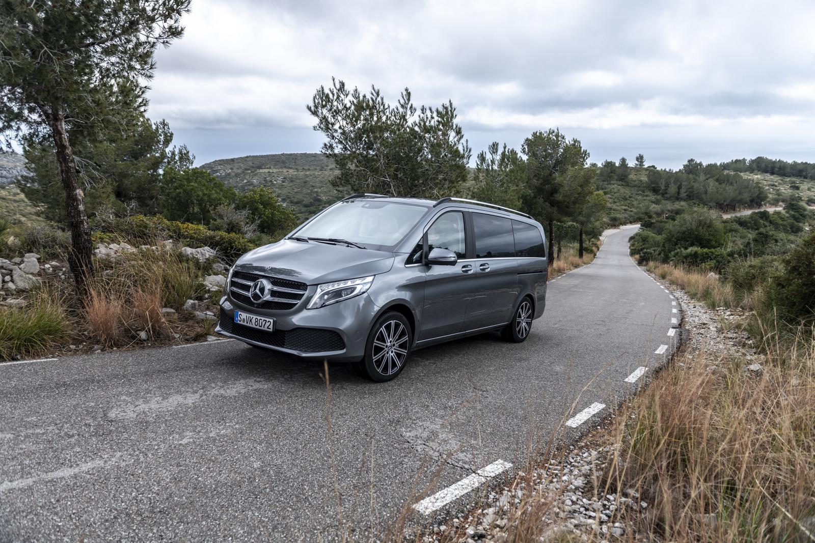 Foto de Mercedes-Benz Clase V 2019 (34/92)