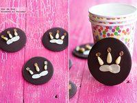 Recetas de Navidad para hacer con niños: Obleas de chocolate y frutos secos para el día de Reyes