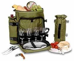 Mochila con kit de picnic incluido
