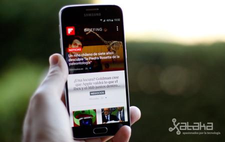 Samsung Galaxy S6 análisis pantalla frontal