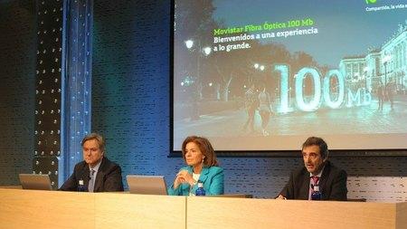 El despliegue de fibra de Movistar alcanzará al 80% de las empresas a finales de 2012 en Madrid