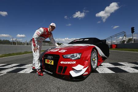 Miguel Molina presenta el Audi RS5 con el que disputará la temporada 2013 en el DTM