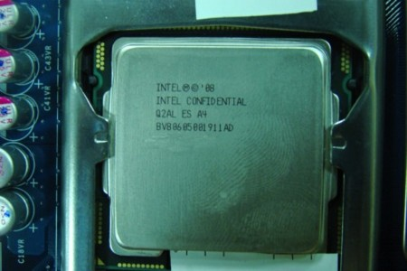 Intel Confidential CPU