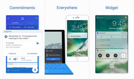 Microsoft busca conquistar usuarios en campo rival y actualiza Cortana para iOS con interesantes mejoras