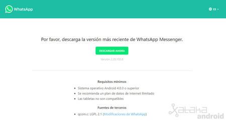 Whatsapp Descargar Web