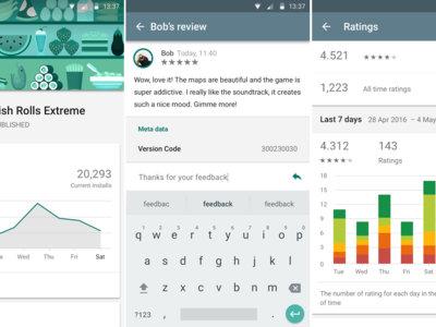 Google Play Developer Console llega a Android, la aplicación esencial para los desarrolladores