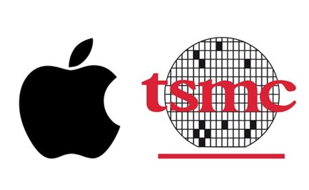 Apple TSMC logos