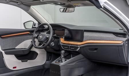Skoda se apunta a los materiales veganos y reciclados: pulpa de remolacha o fibra de planta de caña para sus coches nuevos