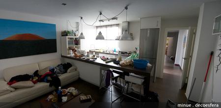 cocina desordenada