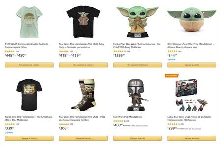 Figuras, juguetes y ropa de Baby Yoda en Amazon México