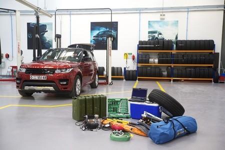Habemus reto: un Range Rover Sport contra el desierto árabe