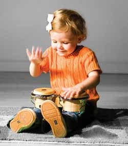 Musicoterapia para niños sordos