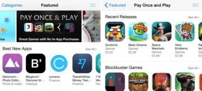 ¿Harto del freemium? Apple empieza a destacar juegos de un único pago en la App Store