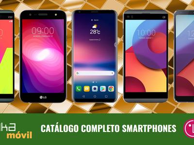 LG V30, así encaja dentro del catálogo completo de smartphones LG en 2017