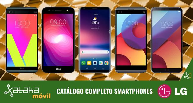Catalogo Completo Smartphones Lg™ Septiembre 2017