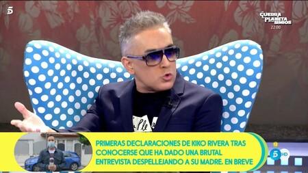 Por Qué Kiko Hernández Presenta Sálvame Con Gafas De Sol Este Es El Problema De Salud Que Le Obliga A Llevarlas