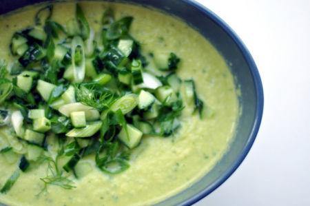 Sopas frías: platos ideales para esta época del año