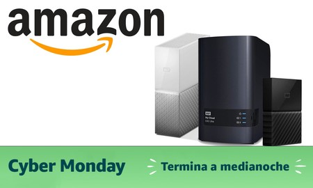Cyber Monday 2019: discos duros Western Digital y SanDisk en oferta en Amazon