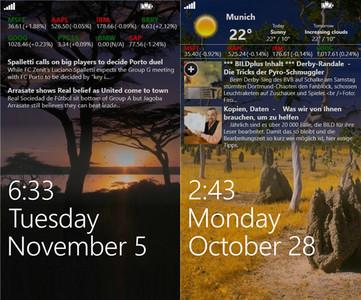 Awesome Lock, toda la información en la pantalla de boqueo de tu Windows Phone