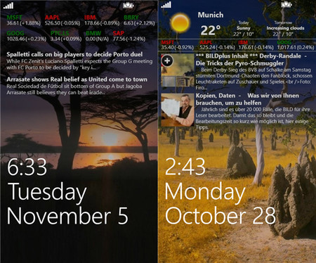 Awesome Lock, toda la información en la pantalla de boqueo de tu Windows Phone