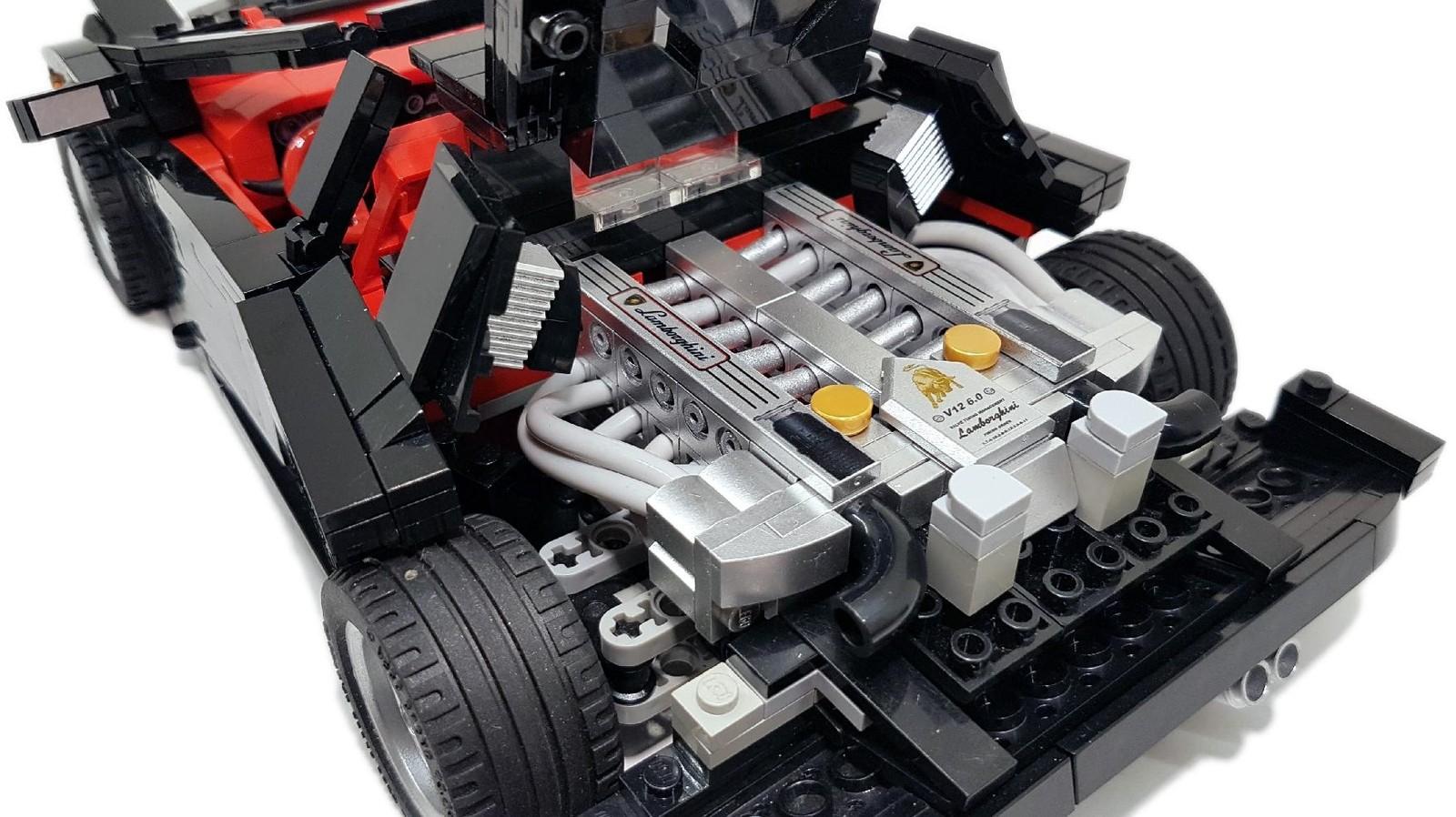 Foto de Lamborghini Diablo GT Lego Ideas (13/18)