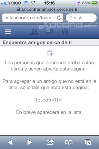 Facebook Friendshake, localiza a amigos y perfiles similares al tuyo usando tu móvil (ACTUALIZADO)
