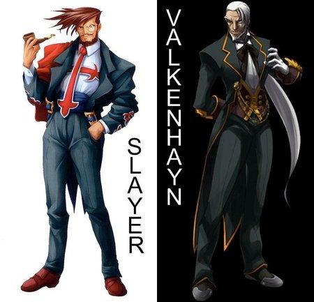 Comparativa gráfica entre Slayer y Valkenhayn