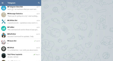 Pestañas En Telegram