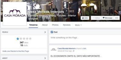 Casa Morada: cómo arruinar tu reputación ofreciendo prácticas