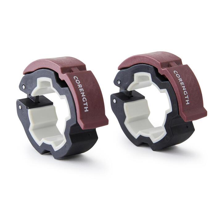 Bloqueadores de disco 28 mm Corength mancuernas barras pesas