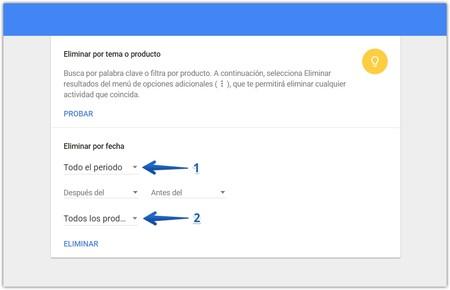 Eliminar Historial Navegacion Mi Actividad Google 2