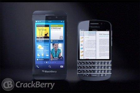 Vídeo filtrado del primer terminal BlackBerry 10 con teclado físico